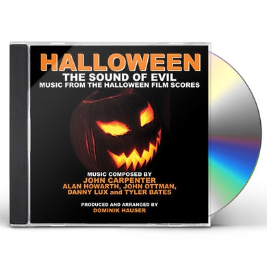 Dominik Hauser HALLOWEEN: THE SOUND OF EVIL CD