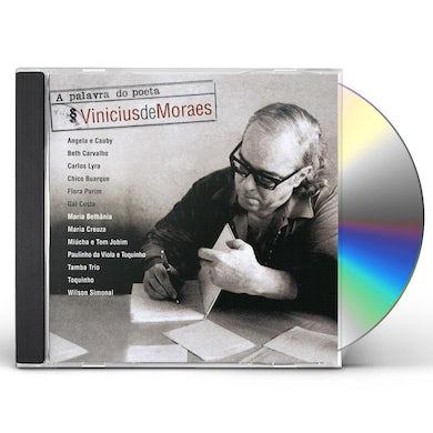 Vinicius de Moraes PALAVRA DO POETA CD
