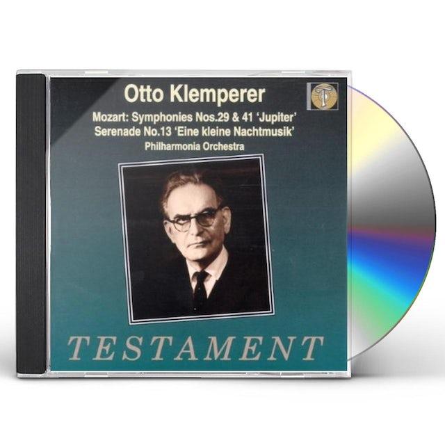 W.A. Mozart SYMPHONIES 29 & 41 CD