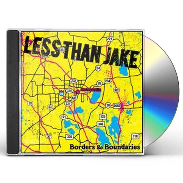 Less Than Jake BORDERS & BOUNDARIES CD