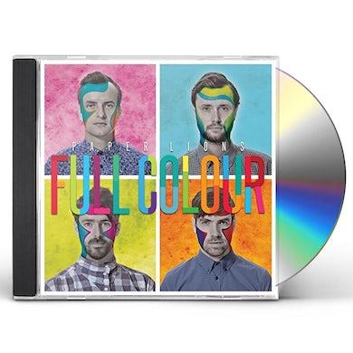 Paper Lions FULL COLOUR CD