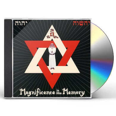 Yahowha 13 MAGNIFICENCE IN THE MEMORY CD
