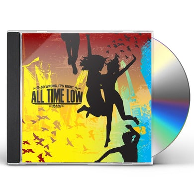 All Time Low SO WRONG IT'S RIGHT CD