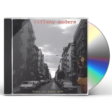 Tiffany Anders HAPPY CRY FUNNY GIFT CD