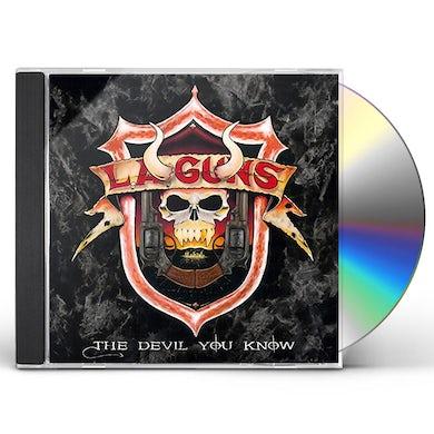 LA Guns DEVIL YOU KNOW CD