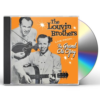 Louvin Brothers FROM THE GRAND OLE OPRY CD