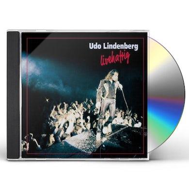 Udo Lindenberg LIVEHAFTIG CD