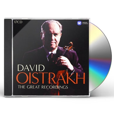 David Oistrakh COMPLETE EMI RECORDINGS CD