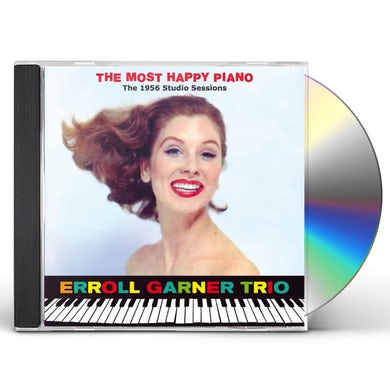 Erroll Garner MOST HAPPY PIANO: 1956 STUDIO SESSIONS CD
