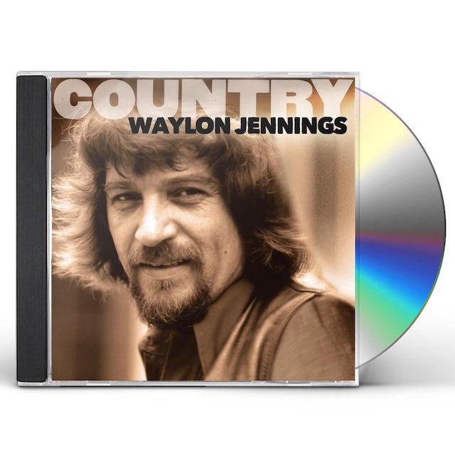 Waylon Jennings COUNTRY CD