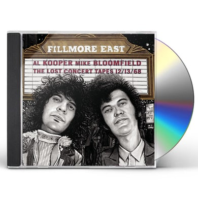Mike Bloomfield Fillmore East: The Lost Concert Tapes 12/13/68 CD