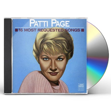 Patti Page 16 MOST REQUESTED SONGS CD
