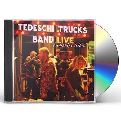 Tedeschi Trucks Band EVERYBODY'S TALKIN CD