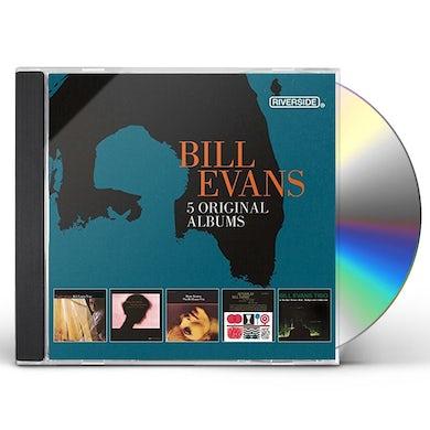 Bill Evans 5 ORIGINAL ALBUMS CD