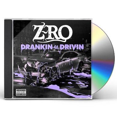 Z-Ro DRANKIN' & DRIVIN' CD