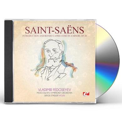 Saint-Saens INTRODUCTION RONDO CAPRICCIOSO IN A MIN 28 CD