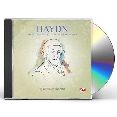 Haydn STRING QUARTET 62 IN C MAJOR OP 76 NO 3 CD