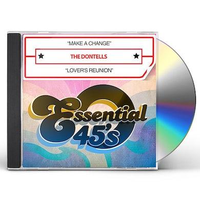 Dontells MAKE A CHANGE / LOVER'S REUNION (DIGITAL 45) CD