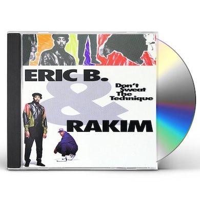 Eric B & Rakim DON'T SWEAT THE TECHNIQUE CD