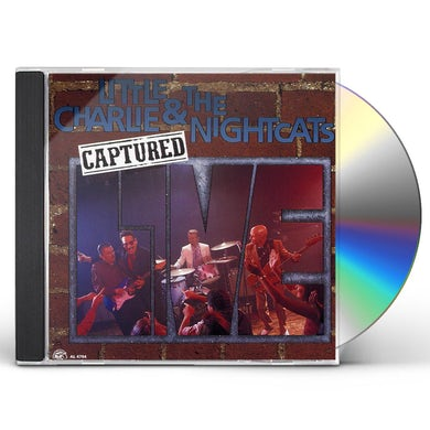 Little Charlie & The Nightcats CAPTURED LIVE CD