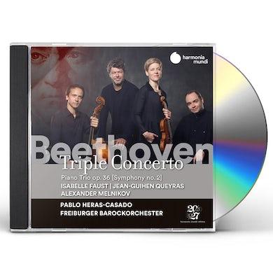 Isabelle Faust, Jean-Guihen Queyras , Alexander Melnikov Beethoven: Triple Concerto CD