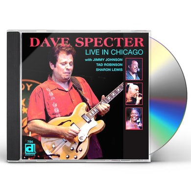 Dave Specter LIVE IN CHICAGO CD