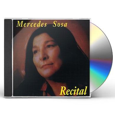 Mercedes Sosa RECITAL CD