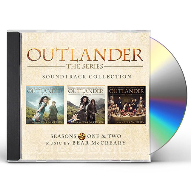 Bear McCreary OUTLANDER: SEASONS ONE & TWO SOUNDTRACK COLL CD