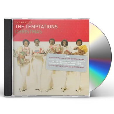 BEST OF The Temptations CHRISTMAS CD