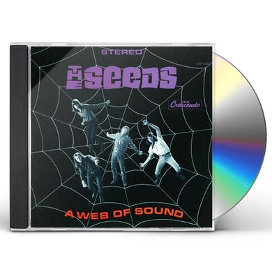 The Seeds WEB OF SOUND-REMASTERED CD