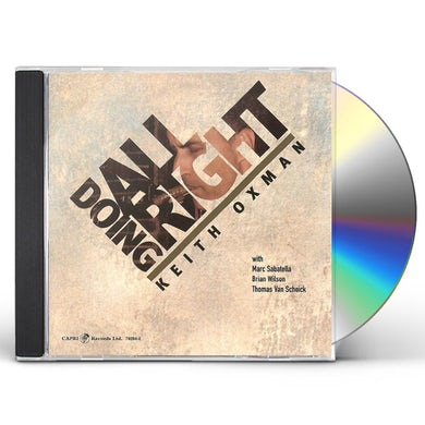DOING ALL RIGHT CD
