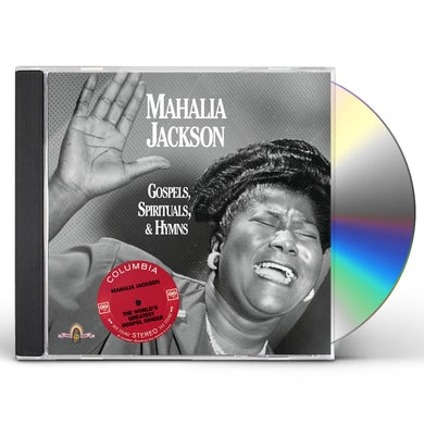 Mahalia Jackson GOSPELS SPIRITUALS & HYMNS (DBL JEWEL CASE) CD