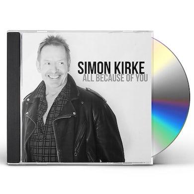 Simon Kirke ALL BECAUSE OF YOU CD