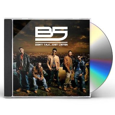 B5 DON'T TALK JUST LISTEN CD