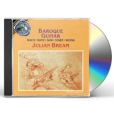 Julian Bream BAROQUE GUITAR CD