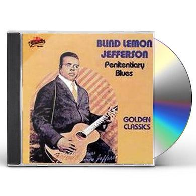 Blind Lemon Jefferson PENITENTIARY BLUES - GOLDEN CLASSICS CD
