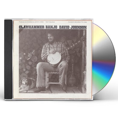 David Johnson CLAWHAMMER BANJO CD