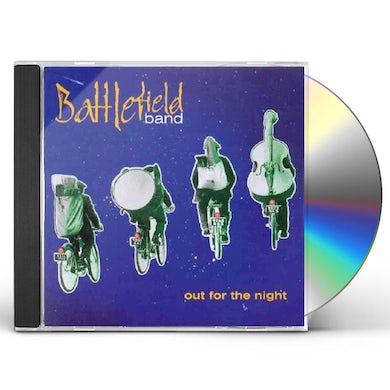 Battlefield Band OUT FOR THE NIGHT CD