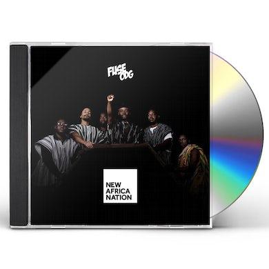 Fuse ODG NEW AFRICA NATION CD