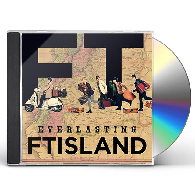 FTISLAND EVERLASTING CD