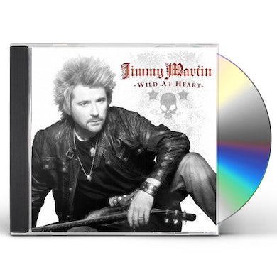 Jimmy Martin WILD AT HEART CD