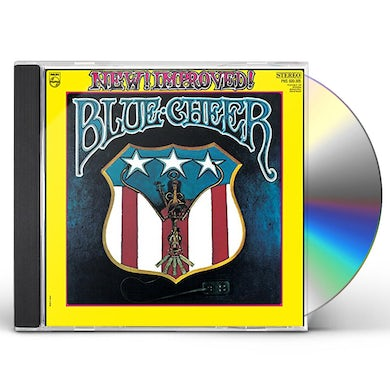 Blue Cheer NEW! IMPROVED! CD