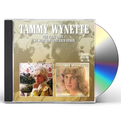 Tammy Wynette FIRST LADY / WE SURE CAN LOVE EACH OTHER CD