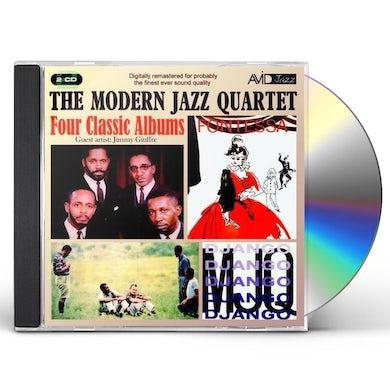 The Modern Jazz Quartet FOUR CLASSIC ALBUMS CD