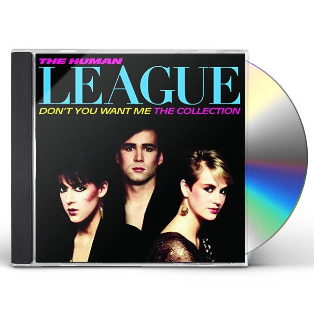 The Human League DONT YOU WANT ME THE COLLECTION CD - UK Release
