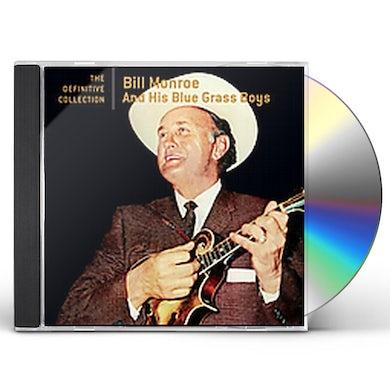 Bill Monroe DEFINITIVE COLLECTION CD