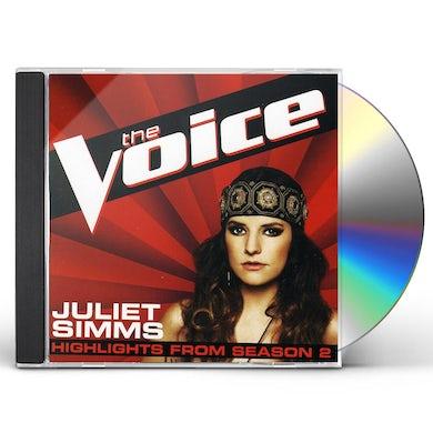 Juliet Simms VOICE: HIGHLIGHTS FROM SEASON 2 CD