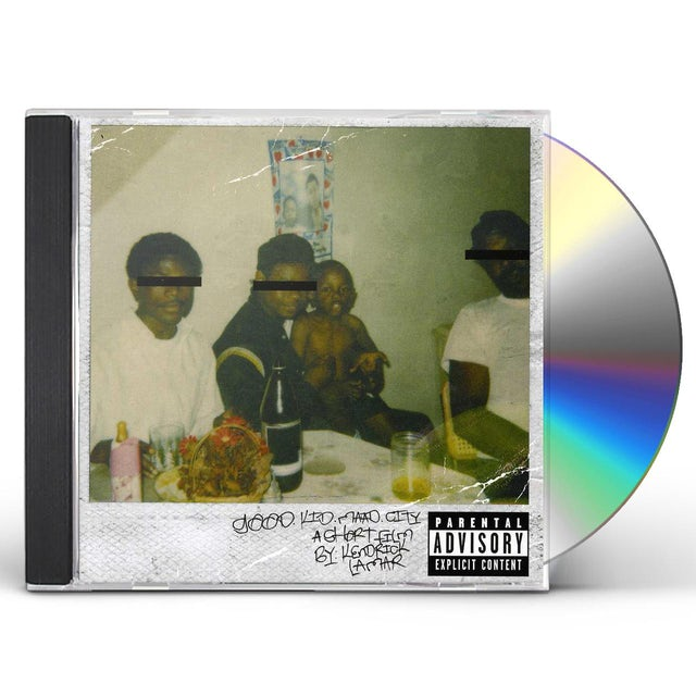 Kendrick Lamar GOOD KID M.A.A.D CITY CD