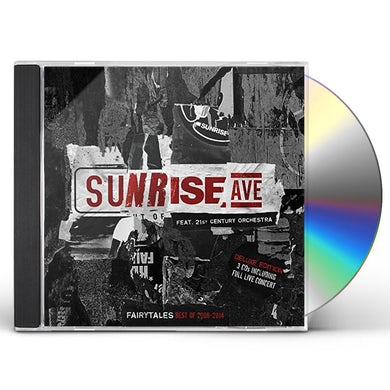 Sunrise Avenue FAIRYTALES-THE BEST OF (NEW VERSION) CD