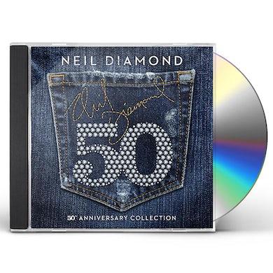 Neil Diamond 50TH ANNIVERSARY COLLECTION CD
